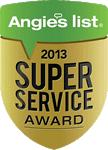2013 Angie's List Super Service Award