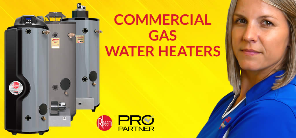 Commercial Gas Water Heaters in Tampa