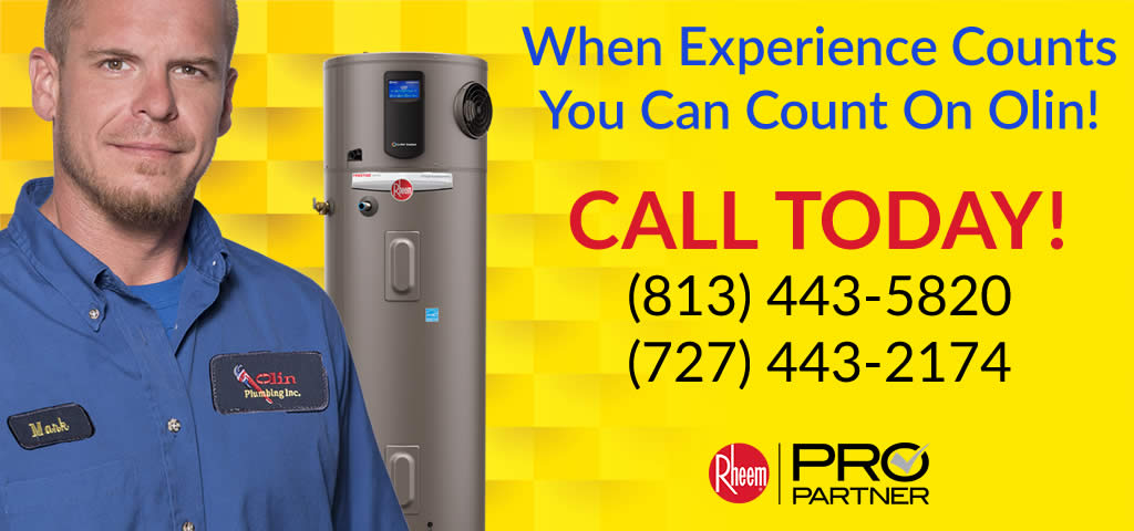 Your Tampa Water Heater Experts
