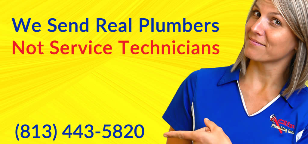 Plant City Plumber Sends Real Plumbers
